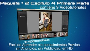 Tutoriales Lightroom 3.5 (2) Capítulo 4 Parte I