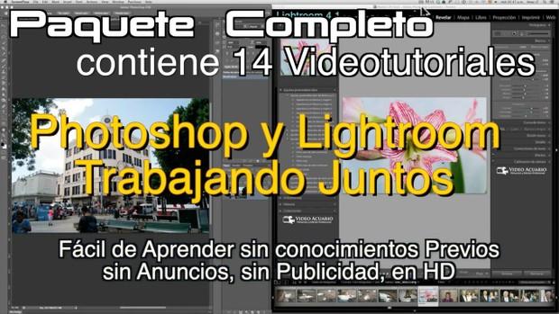 Photoshop y Lightroom Trabajando Juntos.