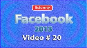 Tutorial Facebook 2013 (Español) No. 20