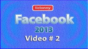 Tutorial Facebook 2013 (Español) No. 2