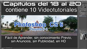 Photoshop CS 6 Capítulos 18 al 20 Paquete 4