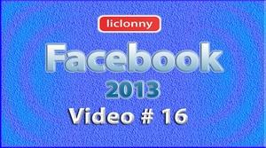 Tutorial Facebook 2013 (Español) No. 16