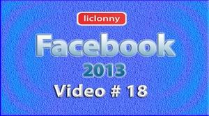 Tutorial Facebook 2013 (Español) No. 18