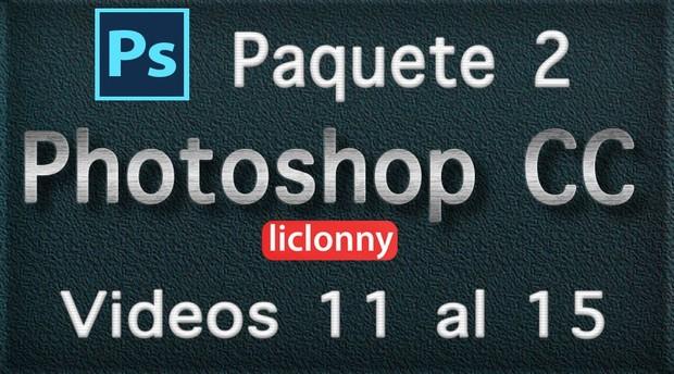 Photoshop CC. Capítulo 5  Paquete 2