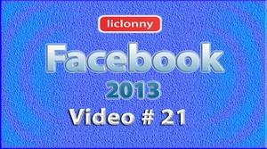 Tutorial Facebook 2013 (Español) No. 21