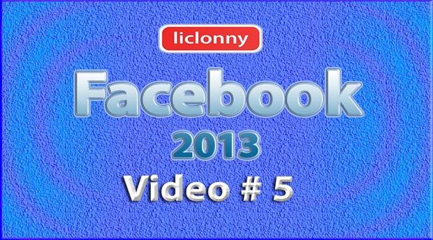 Tutorial Facebook 2013 (Español) No. 5