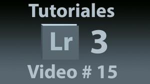 Tutorial Lightroom 3.5 (Español) No. 15