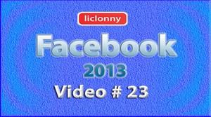 Tutorial Facebook 2013 (Español) No. 23