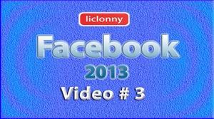 Tutorial Facebook 2013 (Español) No. 3