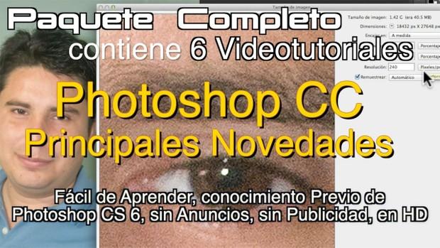 Photoshop CC Novedades. Completo