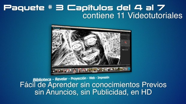 Tutoriales Lightroom 3.5 (3) Capítulos 4 al 7