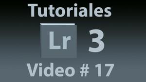 Tutorial Lightroom 3.5 (Español) No. 17