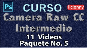Camera Raw CC. Intermedio Capítulos del 12 al 14. Paquete 5
