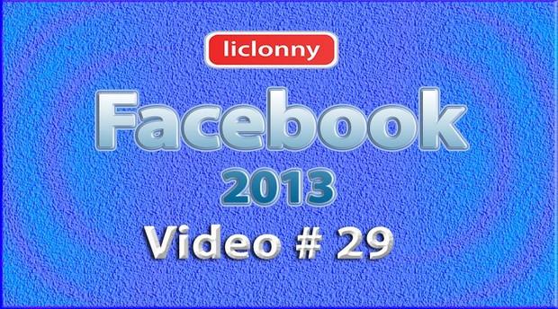 Tutorial Facebook 2013 (Español) No. 29