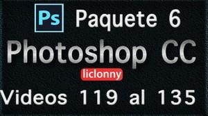 Phtoshop CC completo. Paquete No. 6. Videos del 119 al 135. Principiantes. liclonny