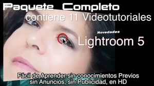Tutoriales Novedades de Lightroom 5. Completo