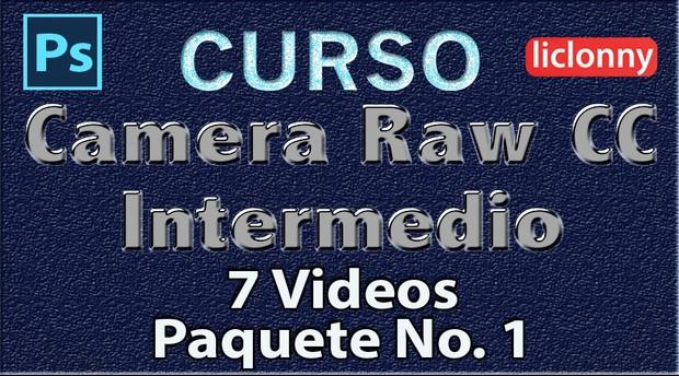 Camera Raw CC. Intermedio Capítulos del 1 al 2. Paquete 1