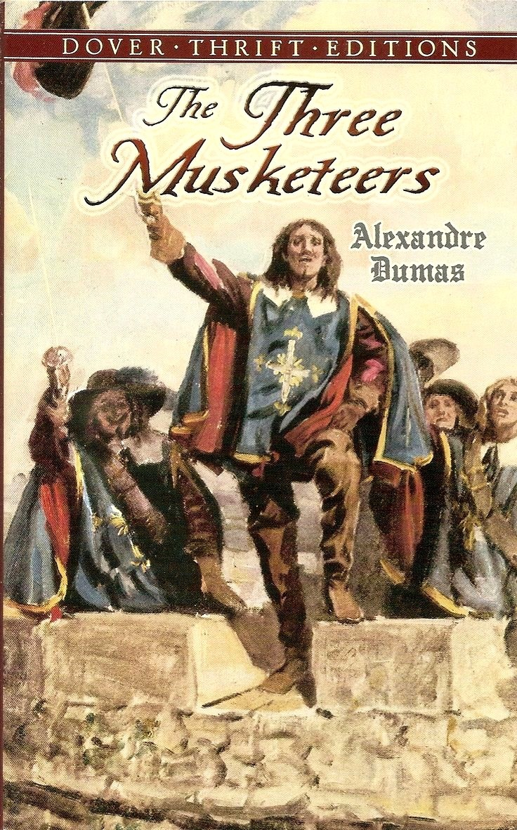 essay musketeer three The three musketeers prothos (mitra): we are famous the three musketeers is about 4 heroes who save the day they are successful in defeating the evil because of the heroic deeds of d'artagnan.