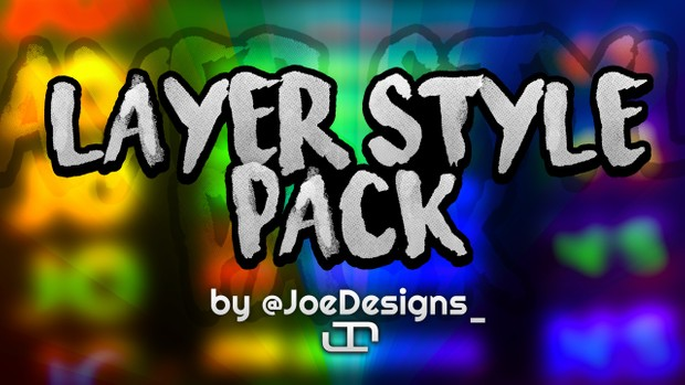Layer Style Pack - Rainbow