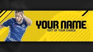 FIFA 17 Twitter Header Template