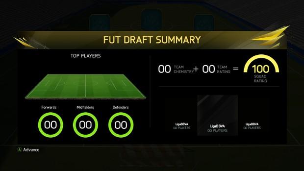 FUT Draft Summary (Editable Digits)
