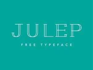 Julep - Free Typeface