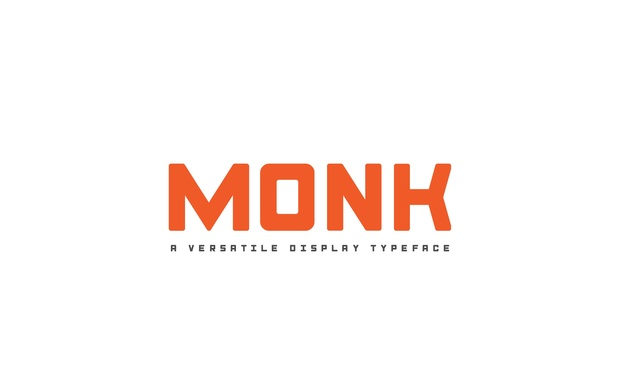 Monk Typeface