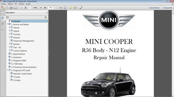 MINI COOPER R56 motor N12 2007-2010 Manual de Taller - Workshop Repair
