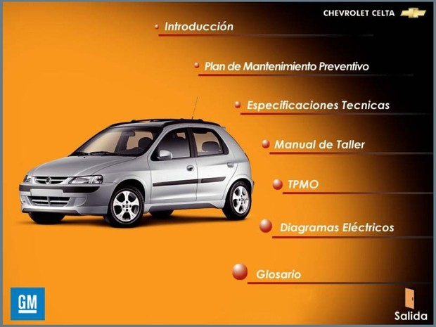 CHEVROLET CELTA (Suzuki Fun) Manual de Taller