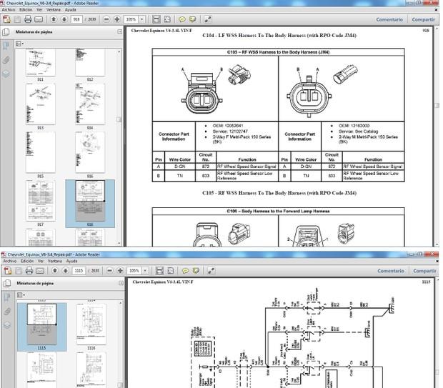 CHEVROLET EQUINOX Manual de Taller