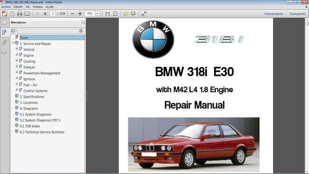 bmw e30 repair manual pdf