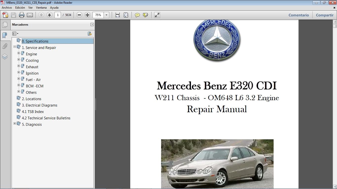 car repair manuals rh sellfy com w211 workshop manual pdf mercedes w211 manual repair download