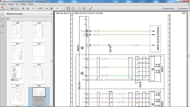 MERCEDES BENZ CLS55 AMG W219 Manual de Taller - Workshop Manual