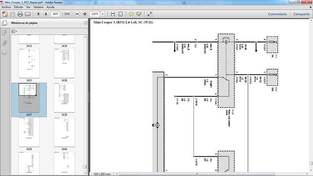 MINI COOPER S R53 2002-2006 Manual de Taller - Workshop Repair