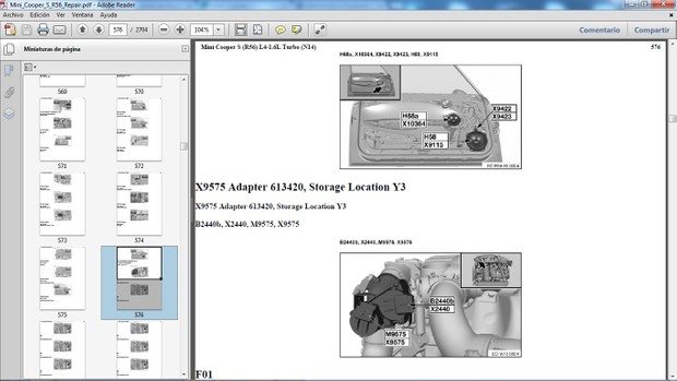 MINI COOPER S R56 2007-2010 - Manual de Taller - Workshop Manual