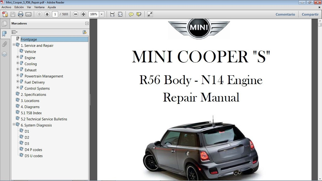 MINI COOPER S R56 2007-2010 - Manual de Taller - Works - Car.Repair.Manuals