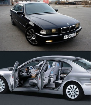 BMW 7 Series WIS (2001-2005)