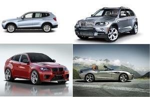 BMW X3, X5, X6, Z4 WIS (2012)