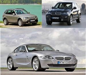 BMW X3,X5,Z4 WIS (2006-2007)