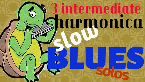 3 intermediate slow blues solos