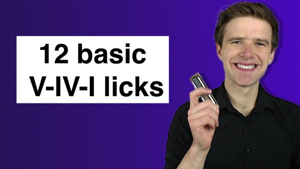 V-IV-I licks (basic)