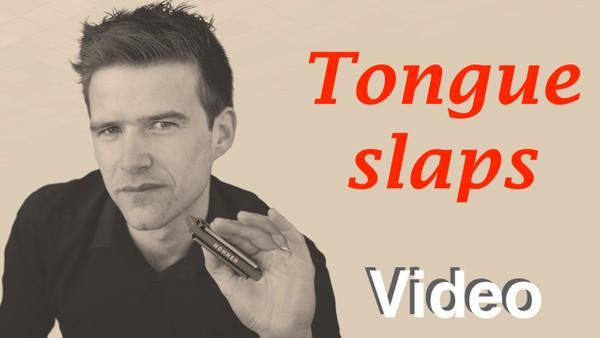 Tongue slapping