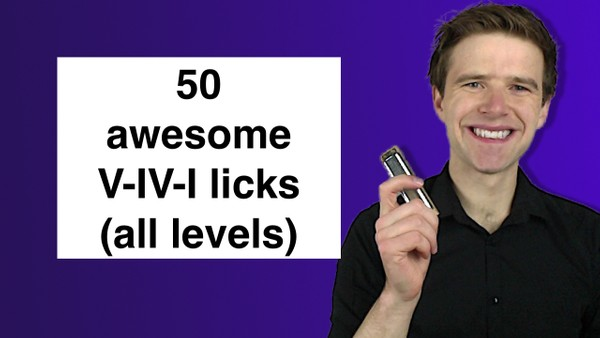 50 V-IV-I licks (basic, intermediate, adv. int and advanced)