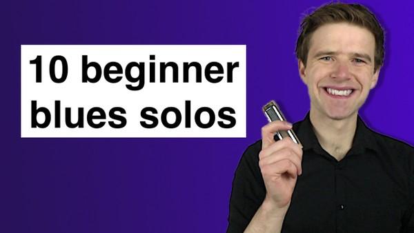 10 beginner blues solos