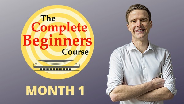 The Complete Beginner Harmonica Course - Month 1