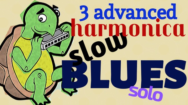 3 advanced slow blues solos