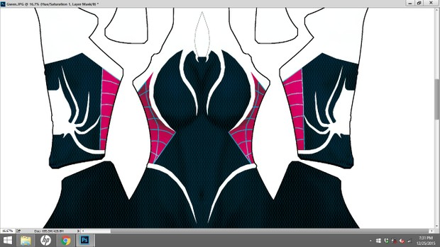 Gwen Stacy: Spider Girl Dye Sublimation Print File