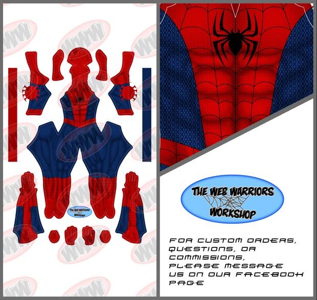 Spider-Man Dye Sublimation Print File