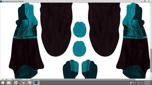 Blue Lantern Dye Sublimation Print File