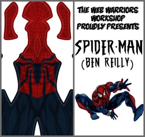 Spider-Man (Ben Reilly) Dye Sublimation Print File